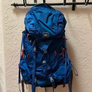REI backpacking backpack